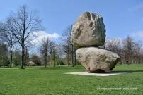 Fischli-Weiss Rock on top of another rock detall