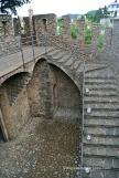 Construcció just a sobre la muralla medieval del S.XV