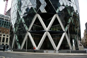 Foster+Partners 30 St. Mary Axe Tower Accés Principal