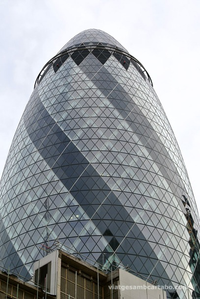 Foster+Partners Gherkin Top Tower