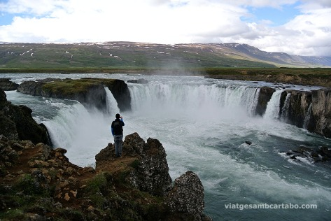 Godafoss, espectacular