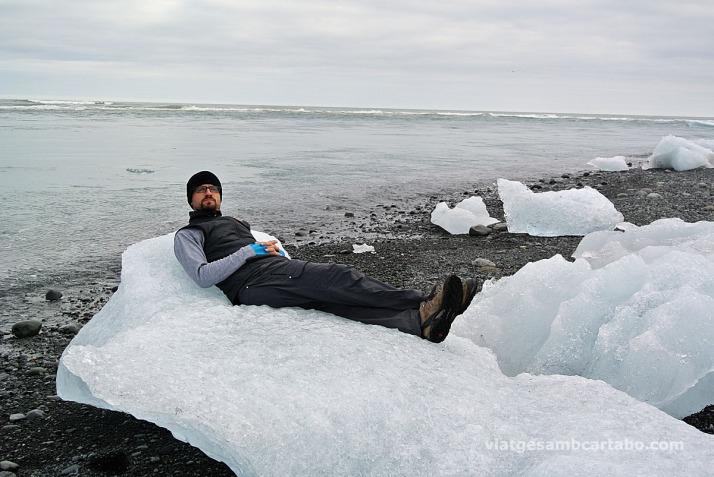 Un iceberg com a gandula