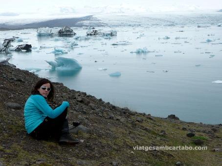 La llacuna amb icebergs de Jökulsárlón