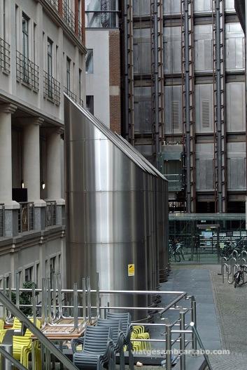 Conductes de ventilació de l'edifici Lloyd's de Richard Rogers