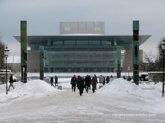 La Copenhagen Opera House des dels Palaus Reials