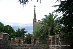 Vistes des de les restes del Palau de Martí l'Humà