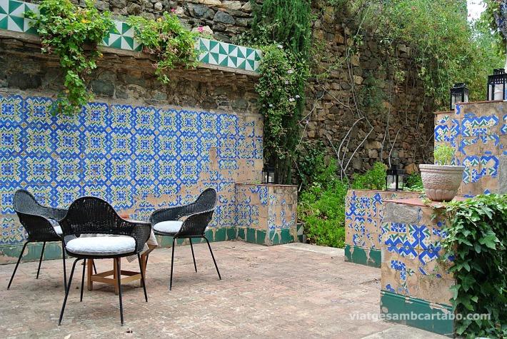 Zona de relax als mateixos jardins