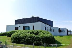 Lateral de l'exterior de la Norraena Husid d'Alvar Aalto