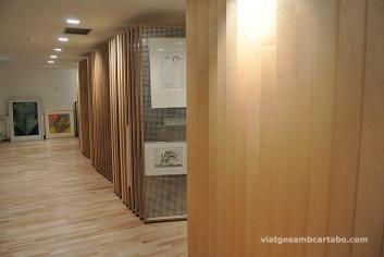 Soterrani espai d'exhibició i arxiu
