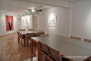 Soterrani, espai per estudi, exposició i arxiu