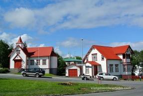 Akureyri Arquitectura més tradicional per una església catòlica