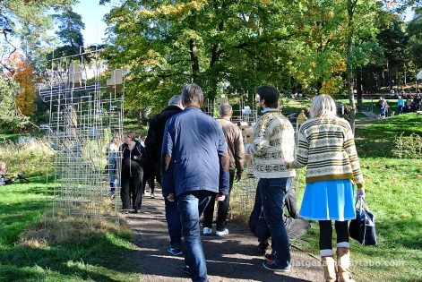 Ekeberg Parken, caminant entre escultures