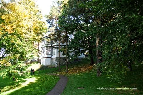 Edifici d'informació de l'Ekeberg Parken