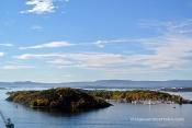 Illa del fiord d'Oslo des de l'Ekeberg Parken