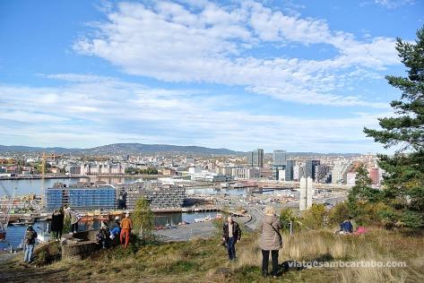 Des de l'Ekeber Parken hi ha les millors vistes d'Oslo