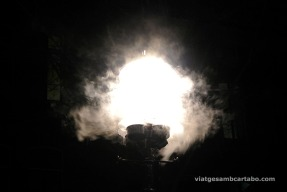Detall de l'obra de l'Amsterdam light Festival