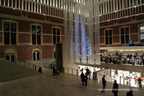 Obra de l'Amsterdam Light Festival dins del Rijksmuseum
