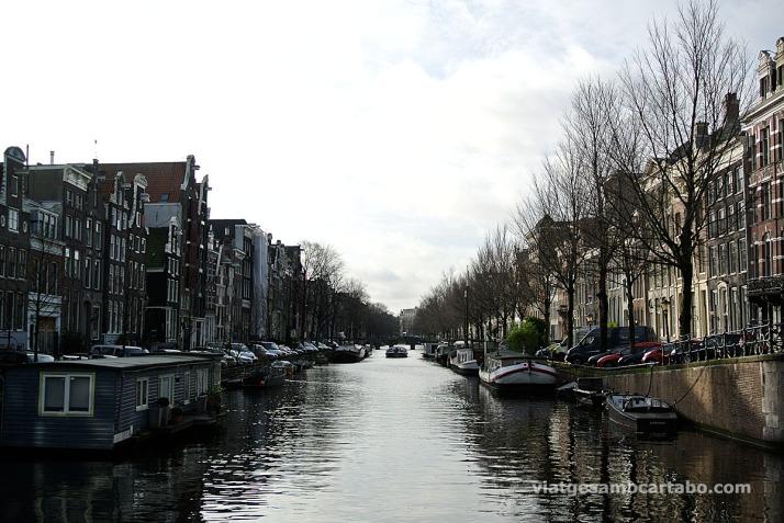 Canal al barri de Jordaan