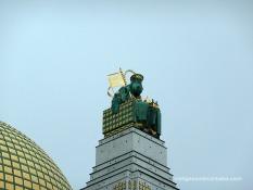 Torre amb Escultura de Sant Severí de Richard Luksch