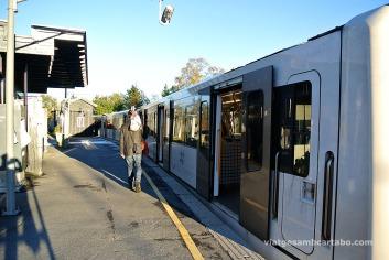 A Homenkollen i a Frognerseteren s'hi pot arribar amb metro