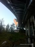 100 tones d'acer a les entranyes del Holmenkollen ski jump