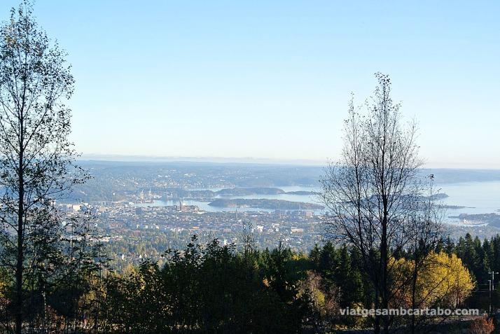 Vista d'Oslo des de Frognerseteren