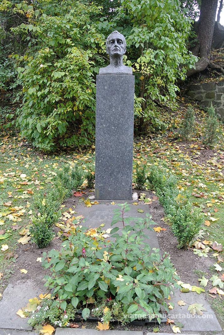 Cementiri tomba Edvard Munch