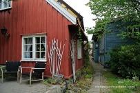 Petits carrerons entre les cases a Damstredet