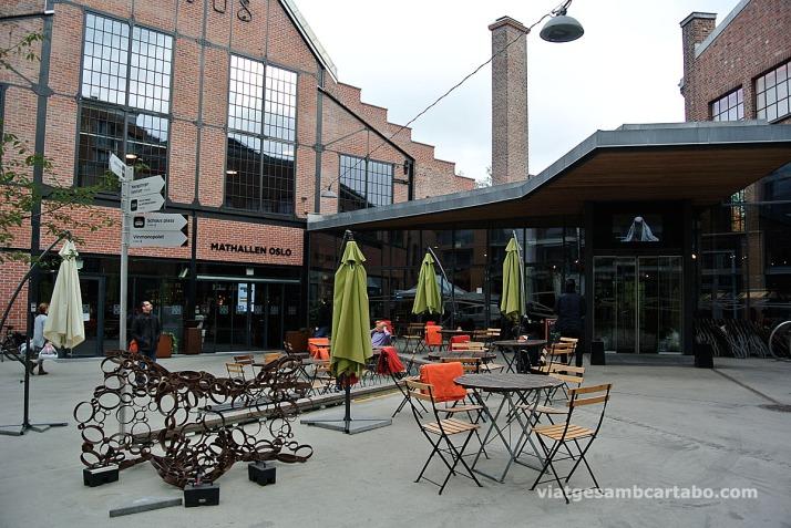 Mathallen, el mercat gastronòmic d'Oslo