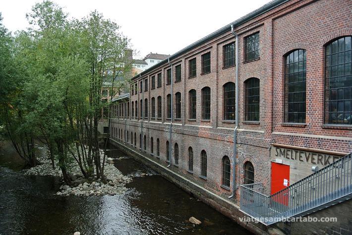Smelteverket, un bar en una antiga fàbrica de maons