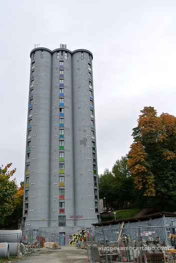 Un peculiar edifici rodó