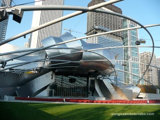 Auditori Pritzker Pavillion de Frank Gehry