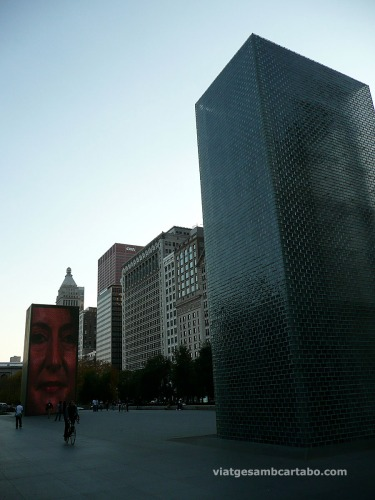 The Crown Fountain de Jaume Plensa