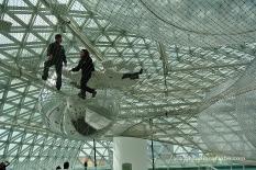 Caminar pel sostre d'un museu, proposta de la Quadriennale