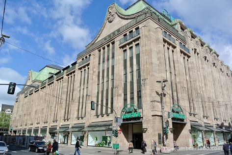 Centre comercial de l'arquitecte modernista Joseph Maria Olbrich