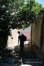 Centuri passejant poble