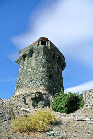 Nonza torre genovesa