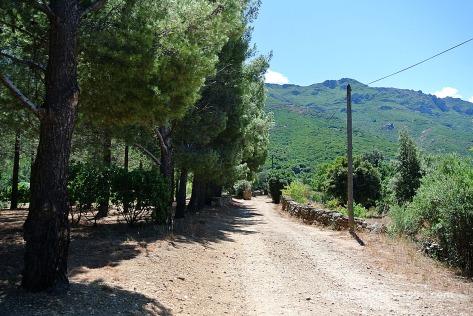 U Castellu Piattu camí