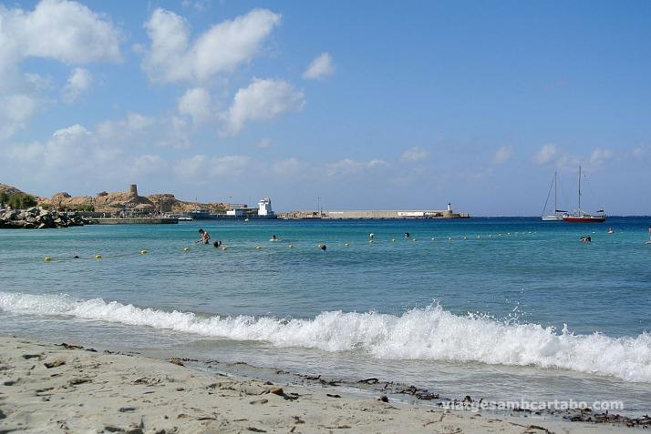 Ille-Rousse platja