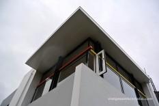 Rietveld House angle superior