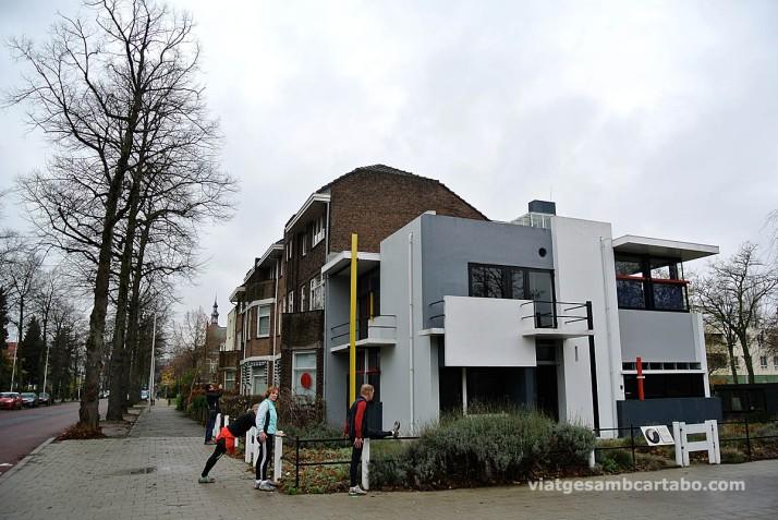 Rietveld House fent estiraments