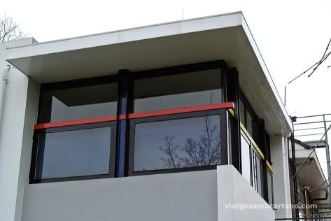 Rietveld House finestres pis superios