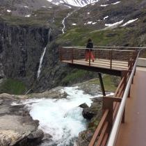 Els impressionants miradors de Trollstigen