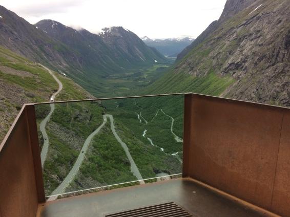 Vistes panoràmiques desde Trollstigen