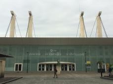 La piscina olímpica dissenyada per Ricardo Bofill
