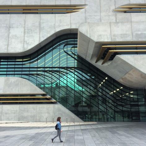 L'edifici és ben fotogènic.