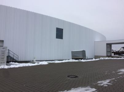 El 1er edifici industrial que mai construeixen.